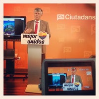 Photo taken at Ciudadanos (C's) by Luis F. on 9/19/2013