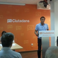 Photo taken at Ciudadanos (C's) by Luis F. on 6/28/2014