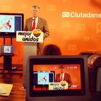 Photo taken at Ciudadanos (C's) by Luis F. on 9/23/2013
