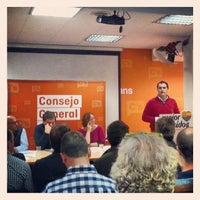 Photo taken at Ciudadanos (C's) by Luis F. on 12/21/2013