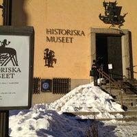Photo taken at Historiska Museet by Aleksey G. on 1/22/2013