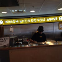 Photo taken at Which Wich? Superior Sandwiches by Bob F. on 3/30/2015