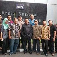 Photo taken at Arsip Nasional Republik Indonesia (ANRI) by Riko P. on 9/1/2014
