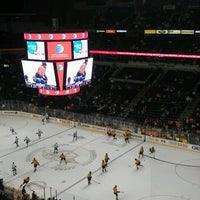Photo taken at Bridgestone Arena by Stephanie S. on 2/23/2013