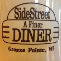 Photo taken at SideStreet Diner by Joe C. on 3/11/2013