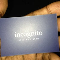 Photo taken at Incognito Bistro by Built F. on 6/2/2013