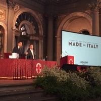 Photo taken at Salone dei Cinquecento by Cristiano M. on 10/5/2015