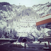 Photo taken at Courmayeur by Anatoliy K. on 3/2/2014