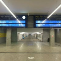 Photo taken at Warsaw East Railway Station by Krzysztof K. on 4/5/2013