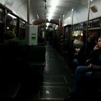 Photo taken at Przystanek AWF (tram) by Krzysztof K. on 11/15/2012