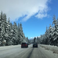 Photo taken at Mt Hood National Forest by Anna J. on 12/29/2014