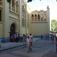 Photo taken at Plaza De Toros Albacete by Puri R. on 9/12/2014