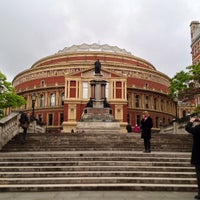 Photo taken at Royal Albert Hall by Tom C. on 5/29/2013