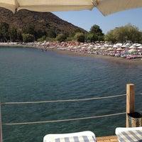 Photo taken at Parıltı Beach by Pinar Y. on 8/23/2014