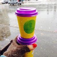 Снимок сделан в Coffee Kiosk пользователем Valya K. 2/14/2016