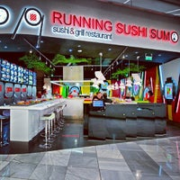Photo taken at Running Sushi Sumo by Ivana H. on 6/5/2013