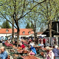 Photo taken at Königlicher Hirschgarten by Ron R. on 4/26/2013