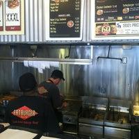 Photo taken at Fatburger by David V. on 10/8/2012