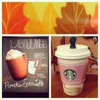 Photo taken at Starbucks by Ruby J. on 9/18/2013