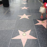 Photo taken at Hollywood Walk of Fame by Alex on 4/14/2013
