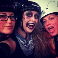Photo taken at Roller Derby by Aubs on 11/17/2013