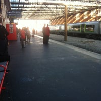 Photo taken at Stoke-on-Trent Railway Station (SOT) by Ducho on 12/11/2012