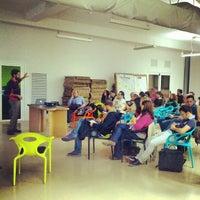 Photo taken at Impact Hub Roma by Roldano D. on 10/24/2012