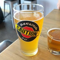 Photo taken at CAUTION: Brewing Company by charles b. on 9/2/2017