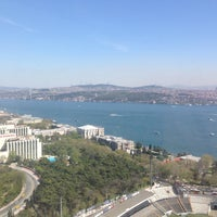 Photo taken at The Ritz-Carlton Istanbul by Efe B. on 4/23/2013