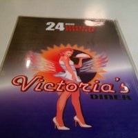 Photo taken at Victoria's Diner by Winslow S. on 9/29/2012