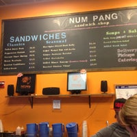 Photo taken at Num Pang Sandwich Shop by Eric B. on 5/23/2013