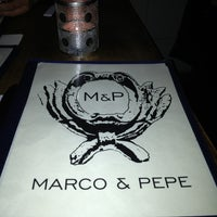 Photo taken at Marco & Pepe by Eric C. on 1/19/2013