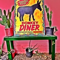 Photo taken at Donkey Diner by diane q. on 1/1/2013