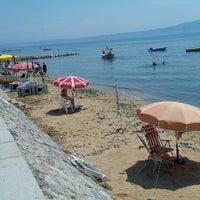 Photo taken at Fıstıklı Sahili by Emrecan B. on 7/26/2015