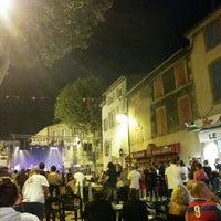 Photo taken at Bar Lou Cigaloun by François L. on 8/9/2014