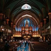 Photo taken at Notre-Dame Basilica of Montréal by François L. on 7/20/2013