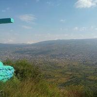 Photo taken at Volcán teuhtli by Francisco P. on 10/7/2016