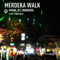 Photo taken at Merdeka Walk by Jimmy E. on 5/1/2013