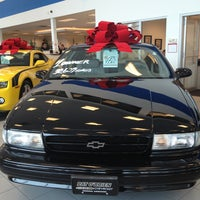Photo taken at East - Pat O'Brien Chevrolet by Julian K. on 12/29/2012