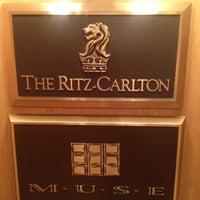 Photo taken at The Ritz-Carlton, Cleveland by Julian K. on 10/4/2012