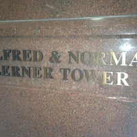 Photo taken at The Alfred & Norma Lerner Tower by Julian K. on 2/18/2013