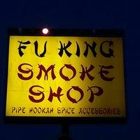Photo taken at Fu King smoke shop by Paul N. on 6/20/2013