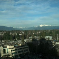 Photo taken at Sheraton Vancouver Guildford Hotel by David M. on 2/15/2013