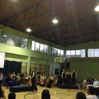 Photo taken at Liceo 7 Providencia by Akromos M. on 12/20/2013