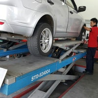 Photo taken at KSY Semenyih Auto Services by pyan t. on 7/22/2015