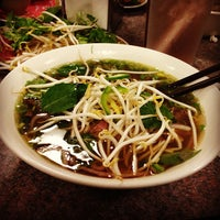 Photo taken at Phở Saigon by Justin K. on 10/26/2012