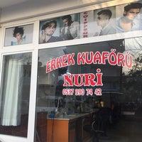 Photo taken at Erkek Kuaförü ✂️NURİ✂️ by Nuri K. on 7/21/2017