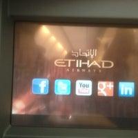 Photo taken at Gate 28 Etihad Air Ways by CaSPeR on 6/29/2013