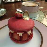 Photo taken at Ladurée by Merve D. on 5/27/2013