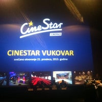 Photo taken at CineStar Vukovar by Katarina on 12/21/2013